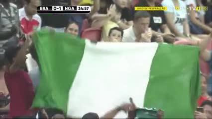 La gran definición de Joe Aribo para Nigeria