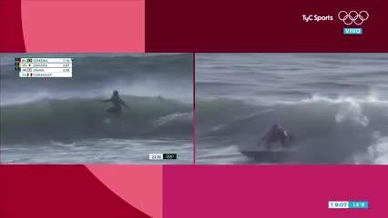 El surf debutó en los Juegos Olímpicos y con un argentino