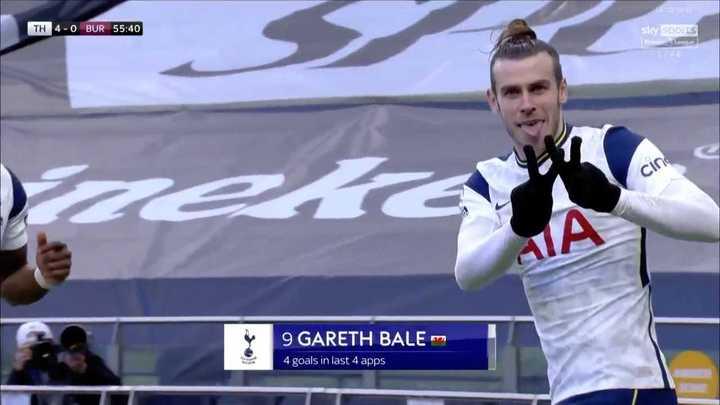 Tottenham goleó 4 a 0 a Burnley