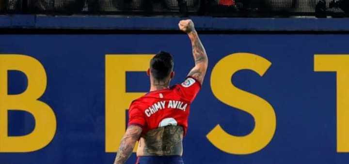 El gol de Ávila para Osasuna