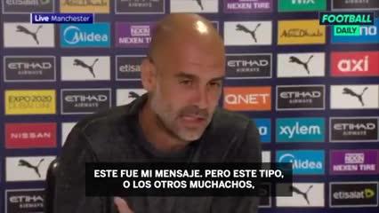 "Guardiola: ""No me disculparé"""