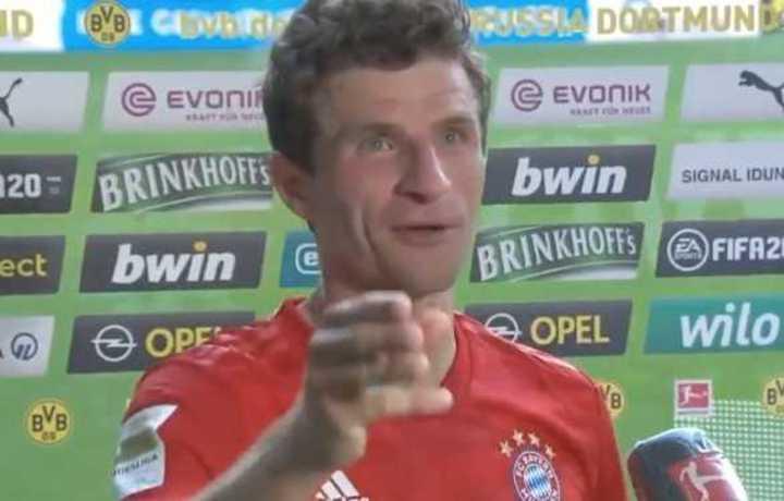 Müller y la divertida comparación de Davies