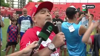 """Maradona: """"Los macristas que se jodan por pelotudos"""""""