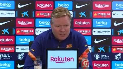 Koeman aseguró que Messi ya no tiene más molestias