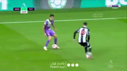 Tremendo derechazo de NDombele para el 1-1 del Tottenham