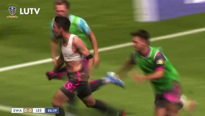 El gol de Pablo Hernández para la victoria del Leeds