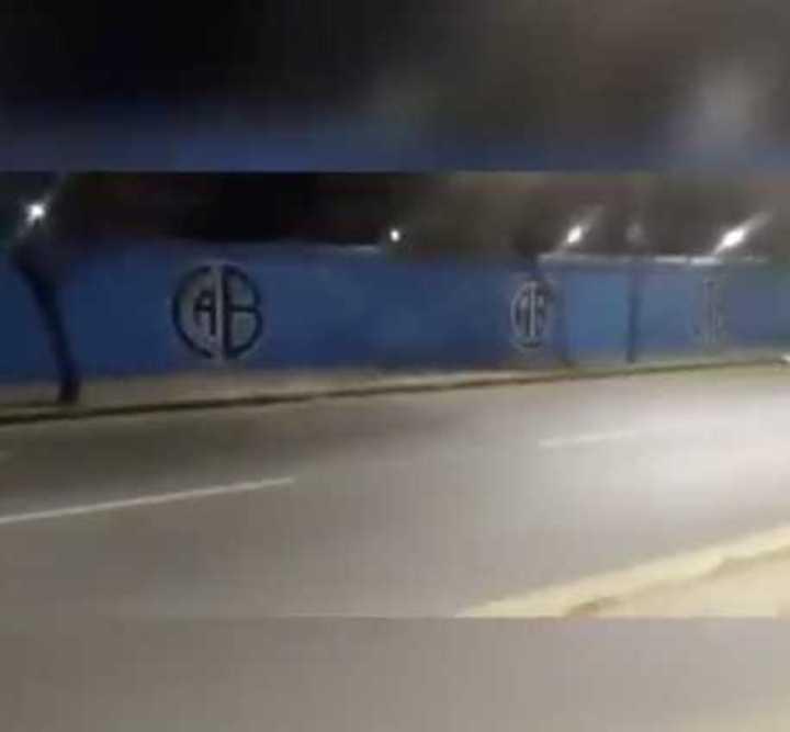 El mural del Belgrano