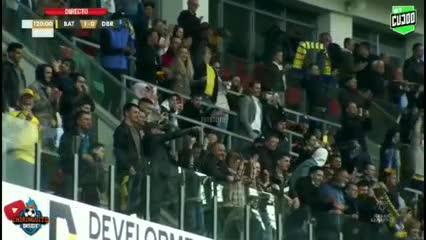 El gol de BATE ante Dínamo Brest