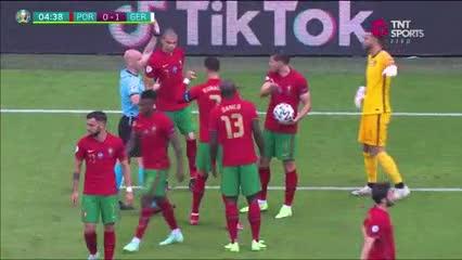 El gol anulado a Alemania