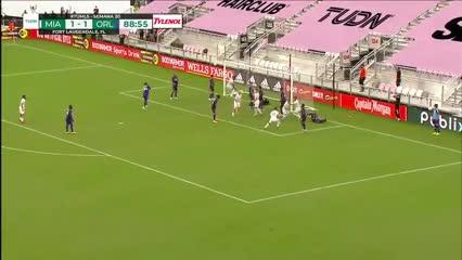González Pirez la embocó en el final y le dio la victoria al Inter Miami