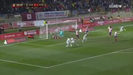 Cultural Leonesa eliminó al Atlético de Madrid por 2 a 1