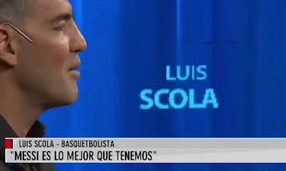 Scola habló sobre la comparación entre Messi y Maradona