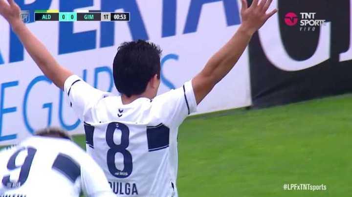 Pulguita Rodríguez marcó el primero para el Lobo