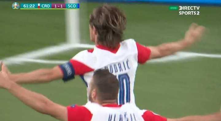 Gol de Modric para Croacia