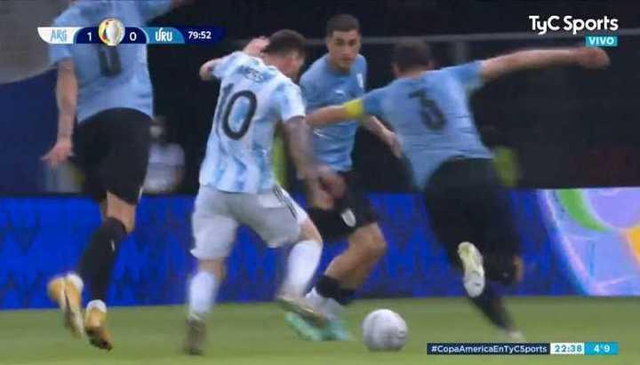 Apilada de Messi