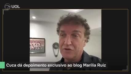 Cuca, ex DT de Santos, negó una antigua acusación de violencia de género.