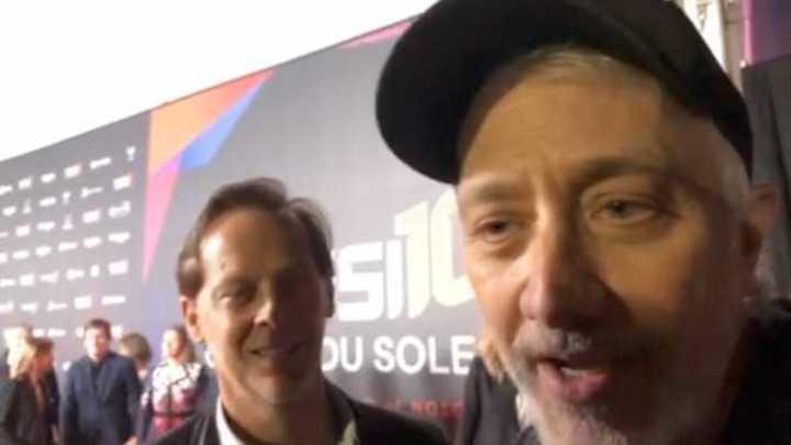 Andy Kusnetzoff y Matías Martin en el Messi 10 del Cirque du Soleil
