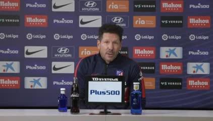 Simeone y un nuevo recuerdo sobre Maradona