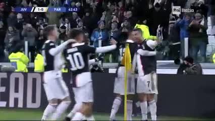 Cristiano puso el primero ante Parma