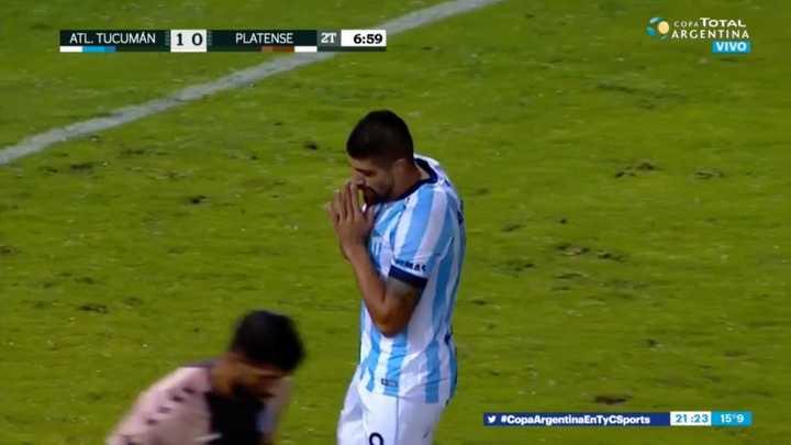 Díaz regaló lo que era el segundo de Atlético