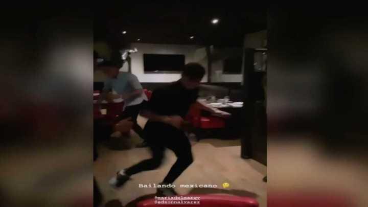Tagliafico la rompió bailando
