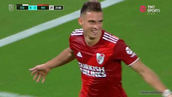Borré también anotó el cuarto