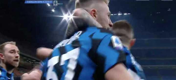 Inter le ganó 1 a 0 a Atalanta