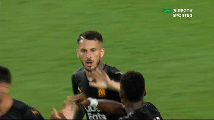 El gol de Benedetto ante Monaco