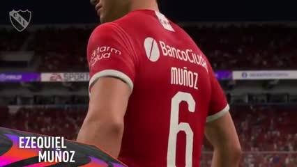 La particular presentación de Muñoz en Independiente