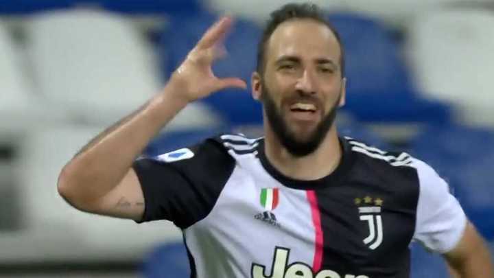 El Pipa Higuaín marcó para la Juve