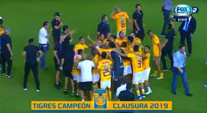 ¡Tigres campeón!