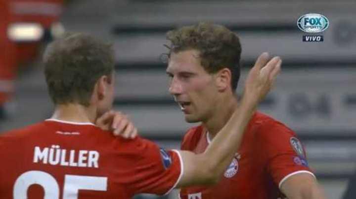 Goretzka lo empató para el Bayern