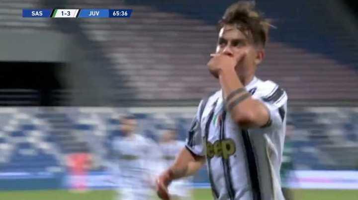 Los goles de Sassuolo 1 - Juventus 3