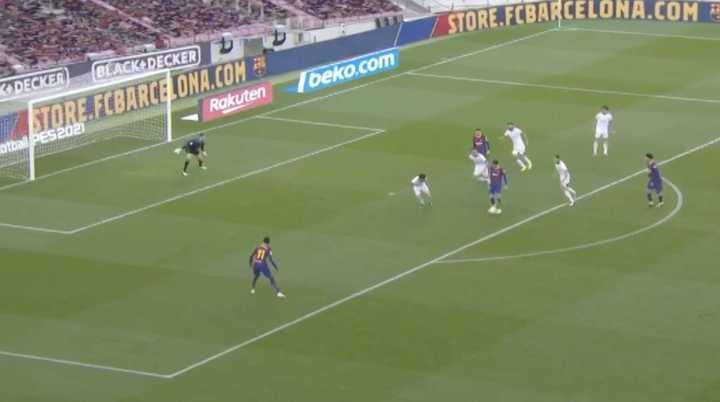 A Barcelona le anularon el cuarto gol