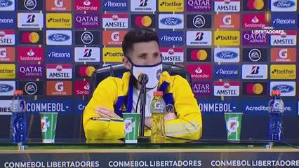 López dijo que Boca es candidato en la Copa