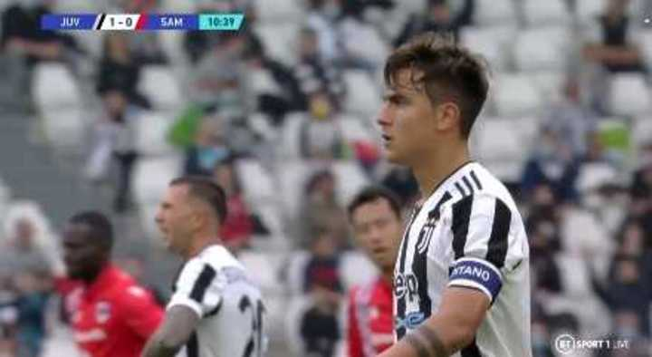 Todos los goles de la victoria de Juventus ante la Sampdoria