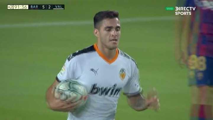 Gómez descontó para Valencia