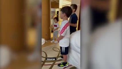 La familia Messi al ritmo de Bizarrap y cómo es la canción para Leo