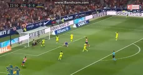 El gol de Morata para el Atlético Madrid