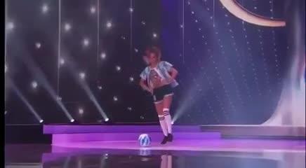 Akselrad, Miss Universo Argentina, homenajeó a Maradona