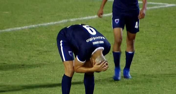 Sportivo Barracas erró un penal