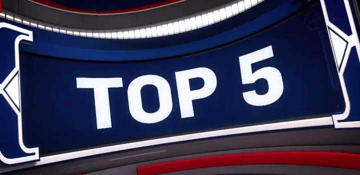 Top 5 del jueves