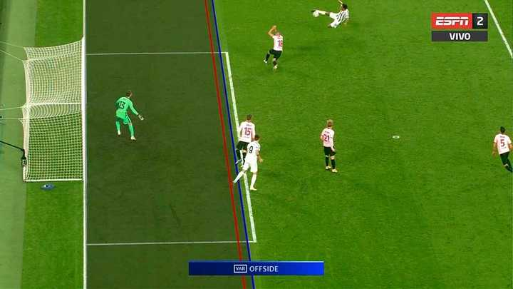 Los tres goles anulados a Morata