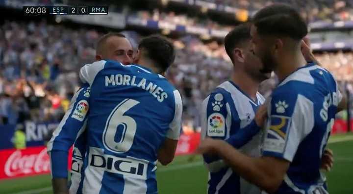 Resumen Espanyol - Real Madrid
