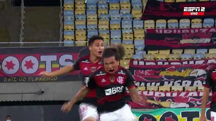 El Flamengo lo empató sobre la hora