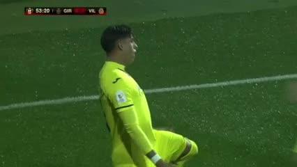 Ramiro Funes Mori marcó para el Villareal por Copa del Rey