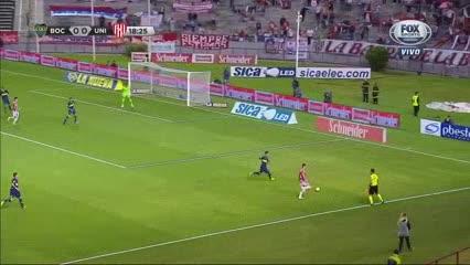 Lotti adelantó a Unión en el marcador