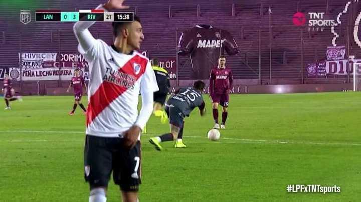 La lesión de Matías Suárez