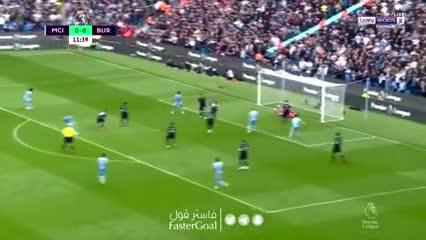 Silva, de entrada, puso el 1-0 para el Manchester City ante Burnley