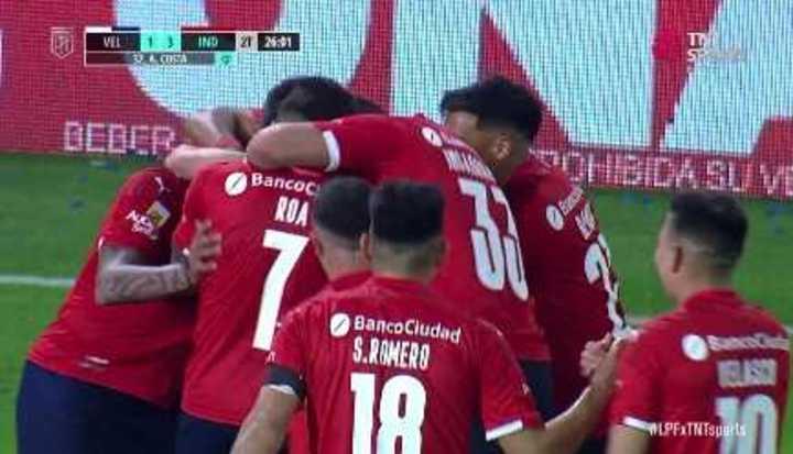 Costa anotó el 3 a 1
